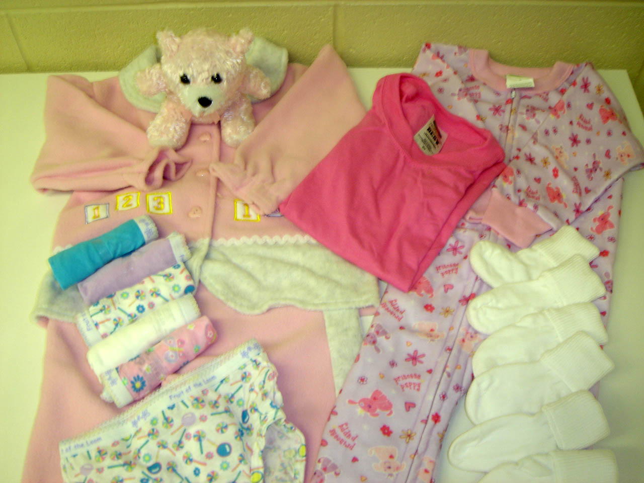 a girl layette